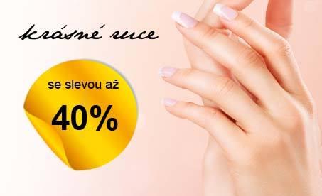 Krásné ruce se slevou 40%