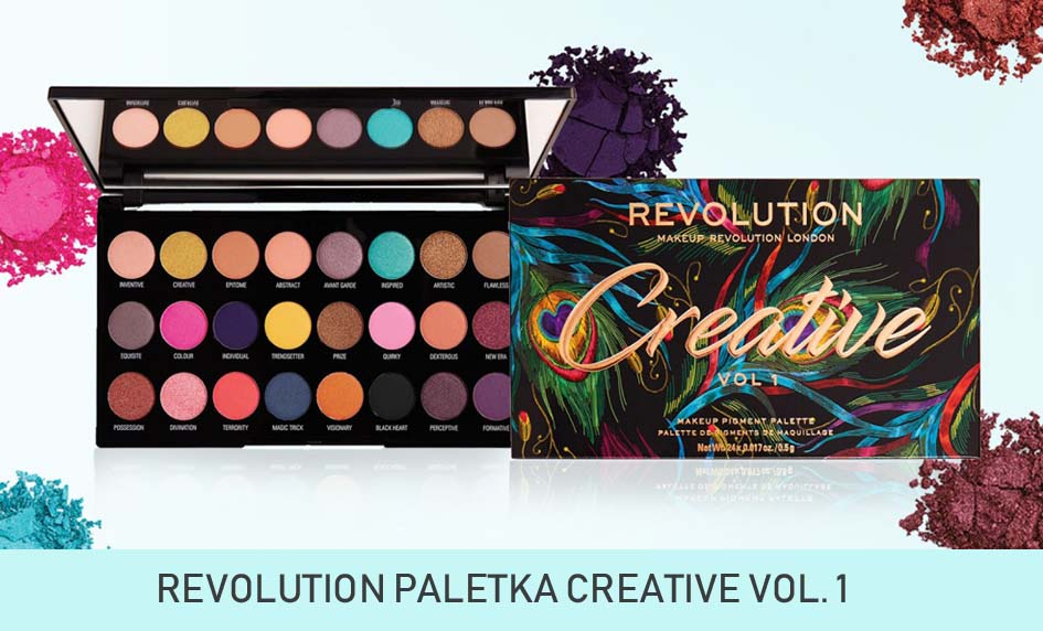 Makeup revolution paletka CREATIVE