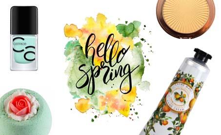 Hello spring kosmetika