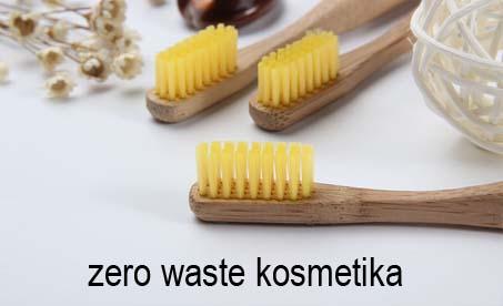 Zero waste kosmetika