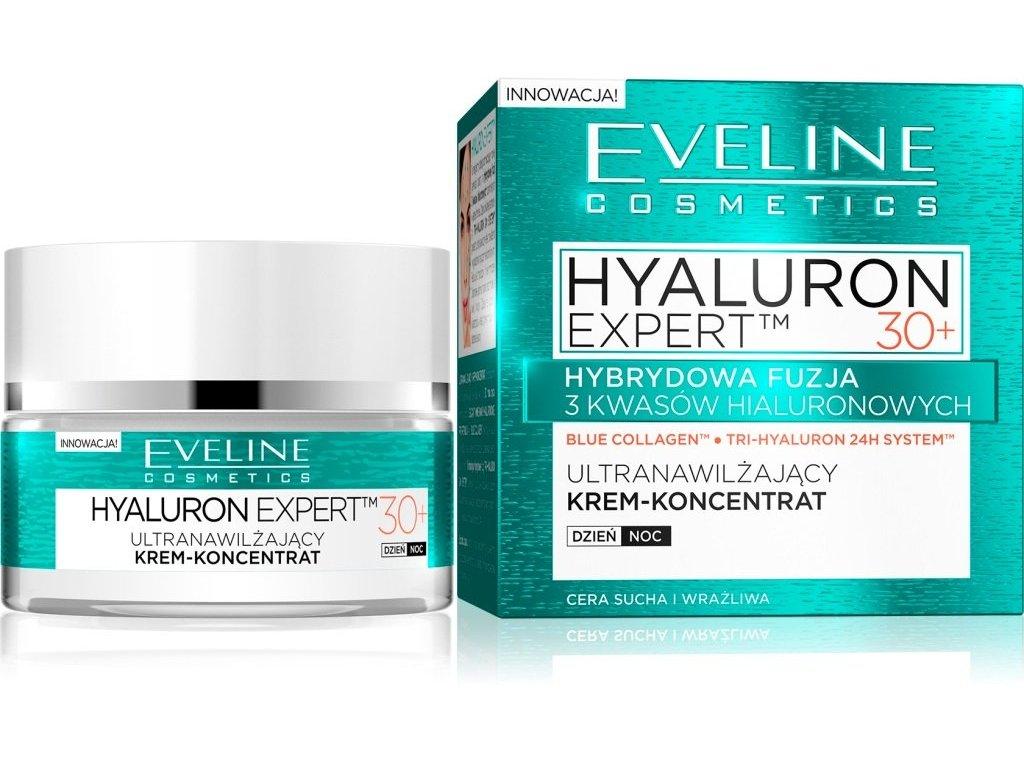 eveline hyaluron expert 30 krem koncentrat ultranawilzajacy na dzien i noc 50 ml b iext48386557