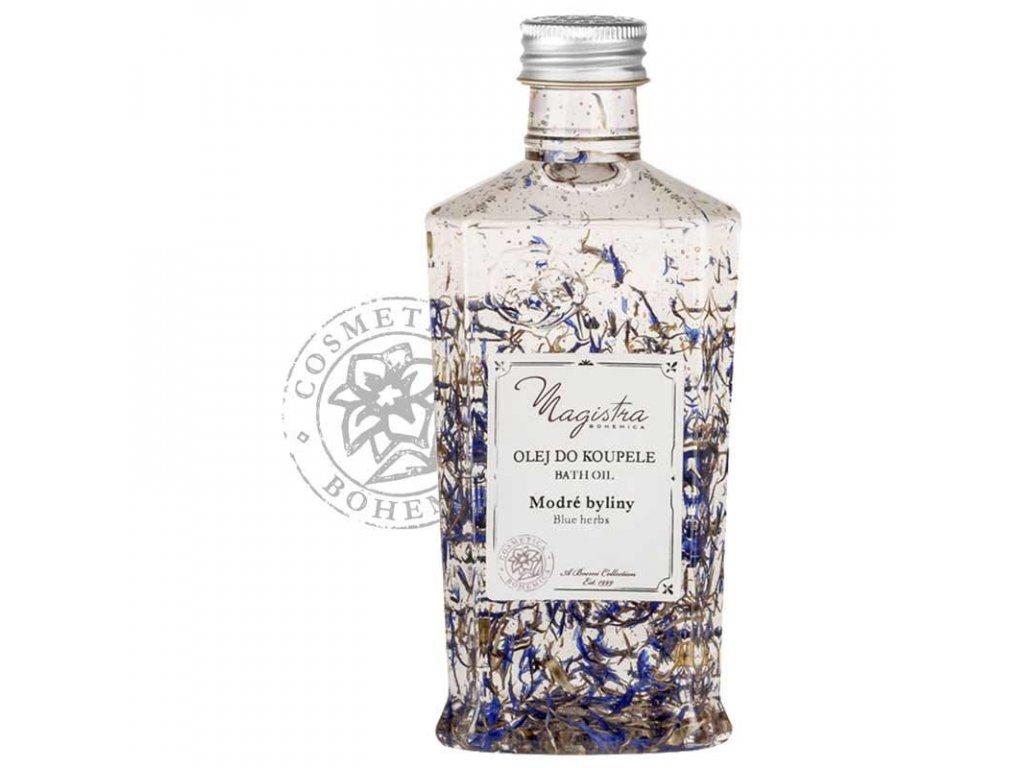 olej koupel Magistra modre byliny