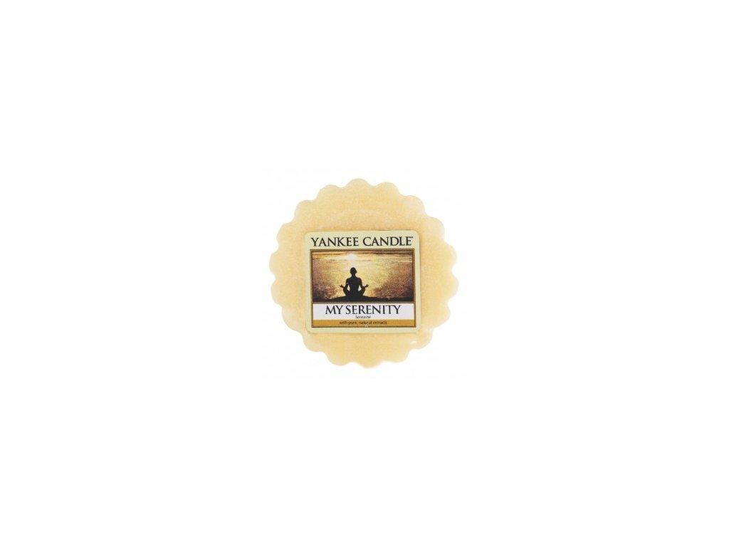 Yankee candle - Vonný vosk do aromalampy MY SERENITY