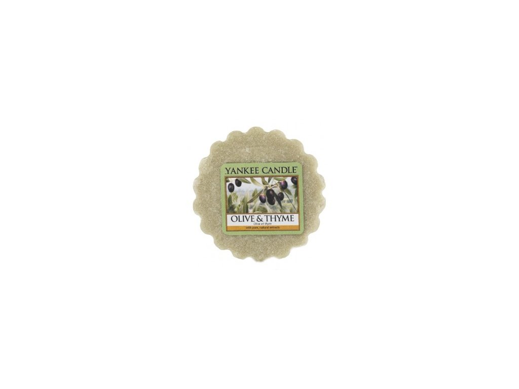 Yankee candle - Vonný vosk do aromalampy OLIVE & THYME