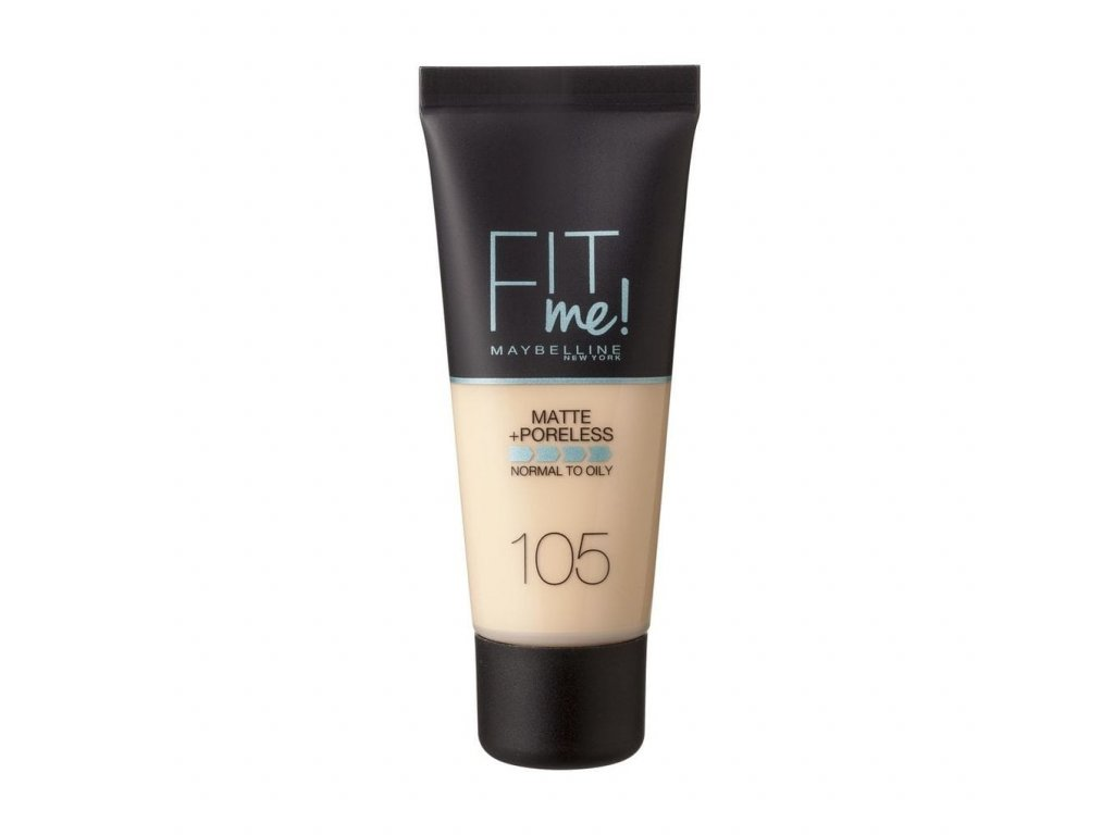 Maybelline - Make-up Fit me matt and poreless 105 Natural Ivory