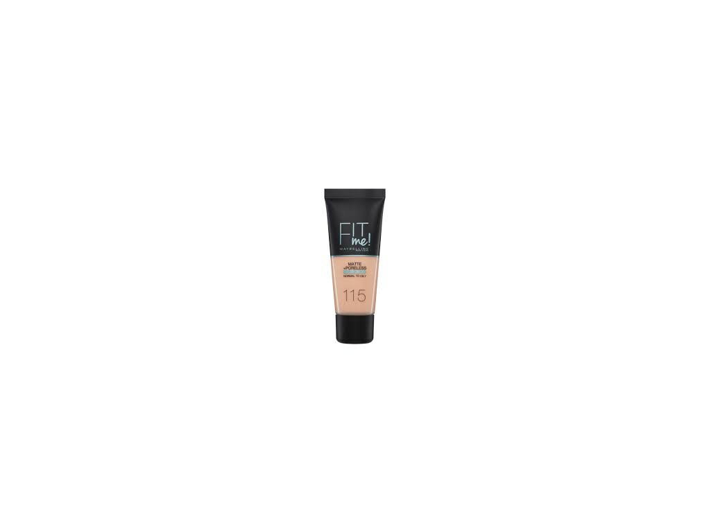 Maybelline - Make-up Fit me matt and poreless 115 Ivory