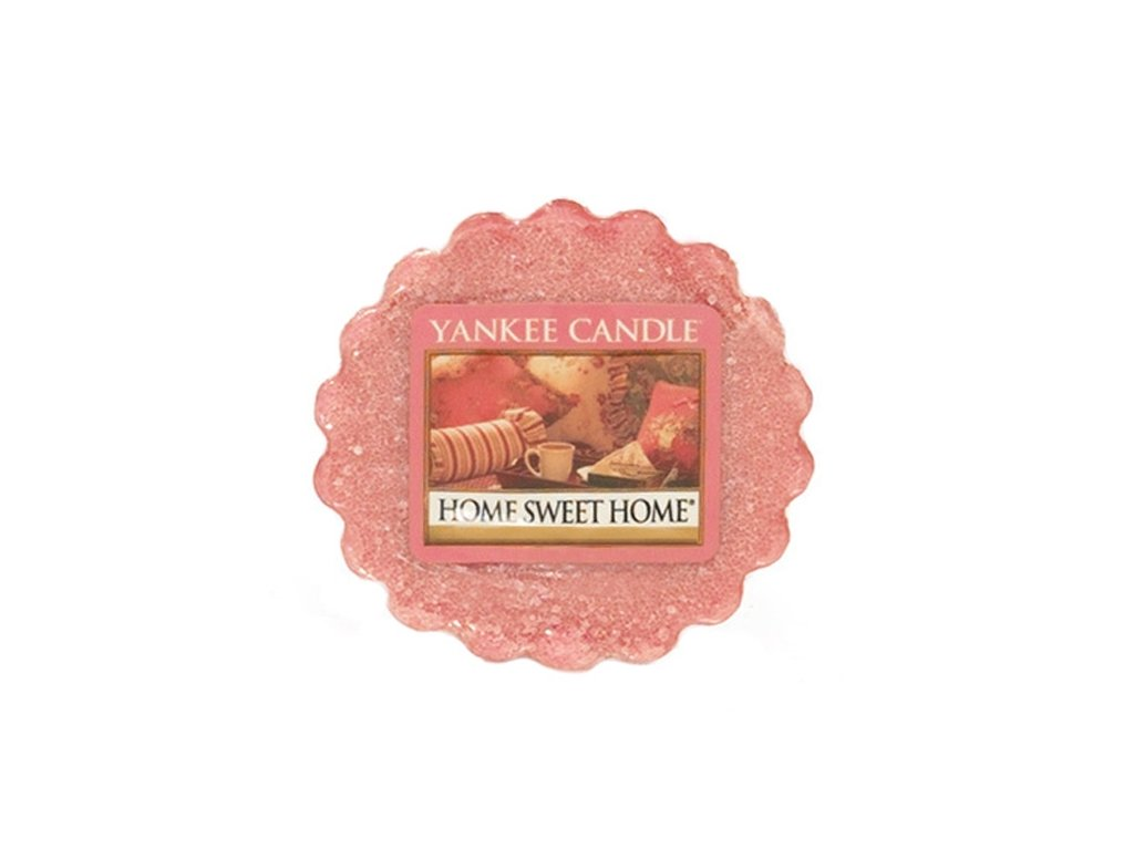 Yankee candle - Vonný vosk do aromalampy HOME SWEET HOME