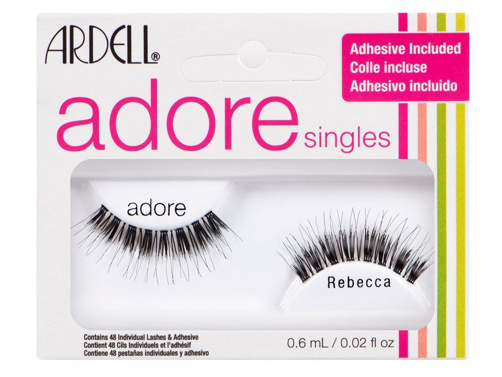 Ardell Adore - Nalepovací řasy s lepidlem Rebecca