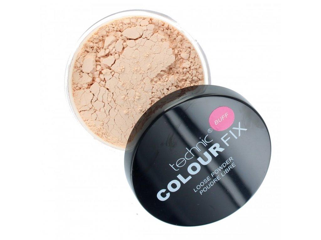 technic colour fix loose face powder 20g buff