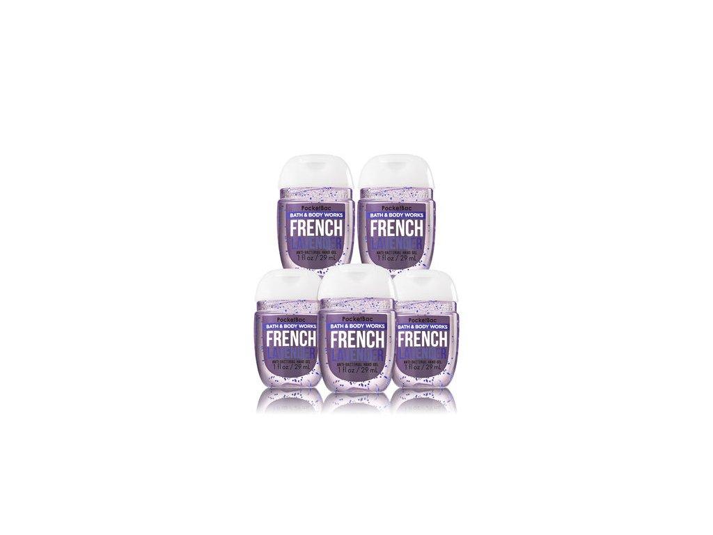Bath & Body Works - Antibakteriální gel na ruce French lavender