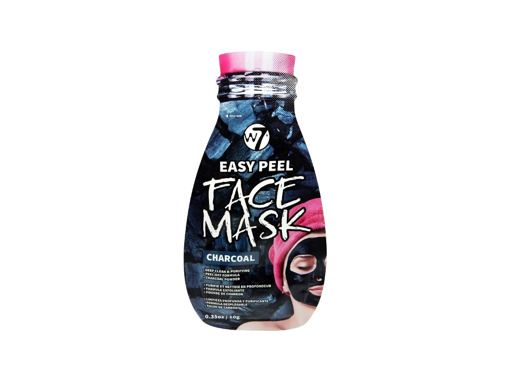 W7 EASY PEEL FACE MASK POUCH