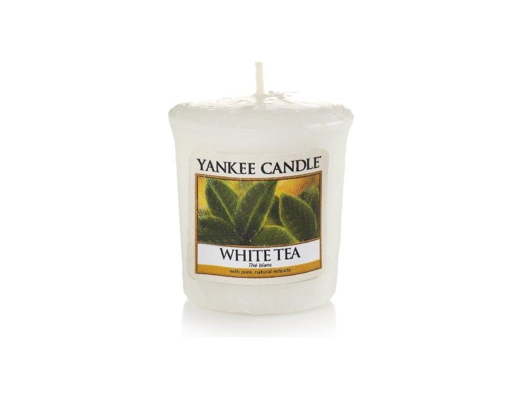 Yankee Candle - Vonná svíčka votivní WHITE TEA