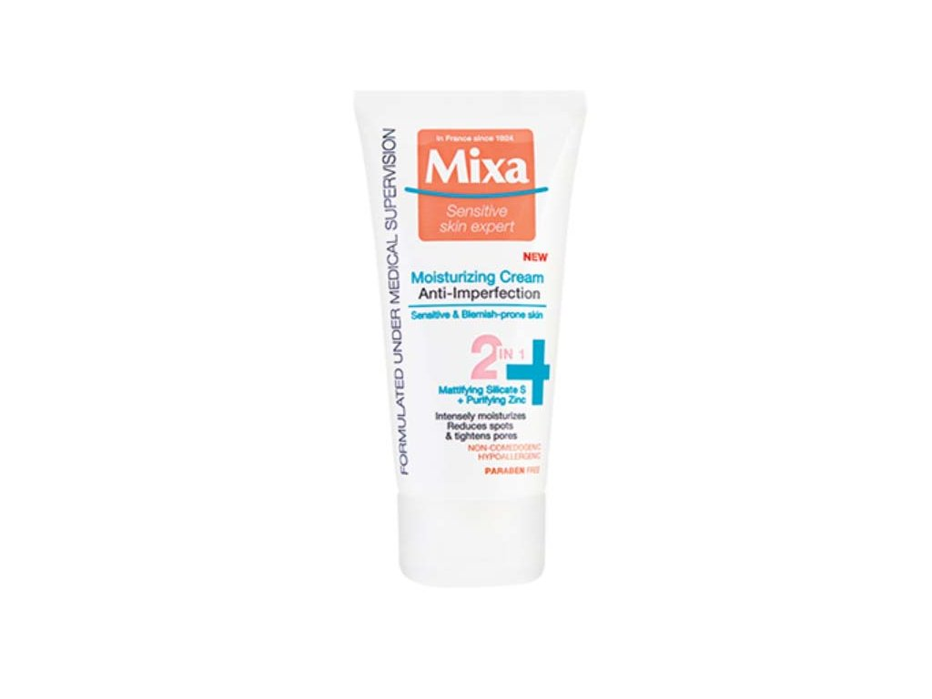 hydratacni krem 2v1 proti nedokonalostem sensitive skin expert anti imperfection moisturizing cream 50 ml 14356879