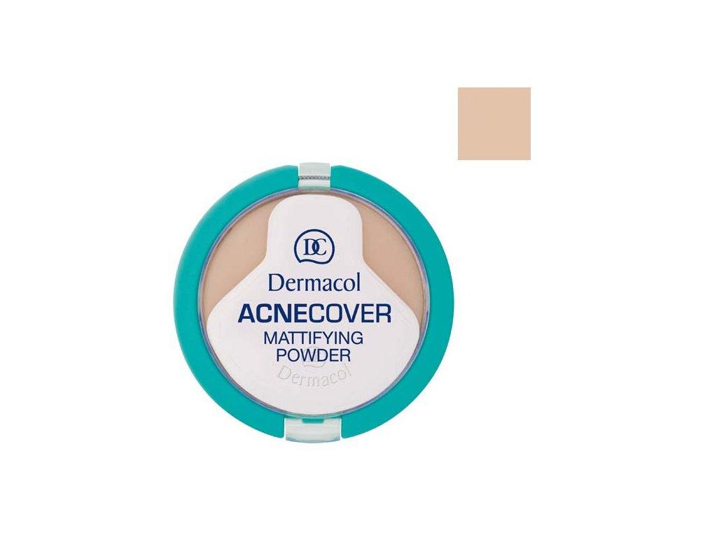 Dermacol - Acnecover matující pudr na problematickou pleť 2 shell