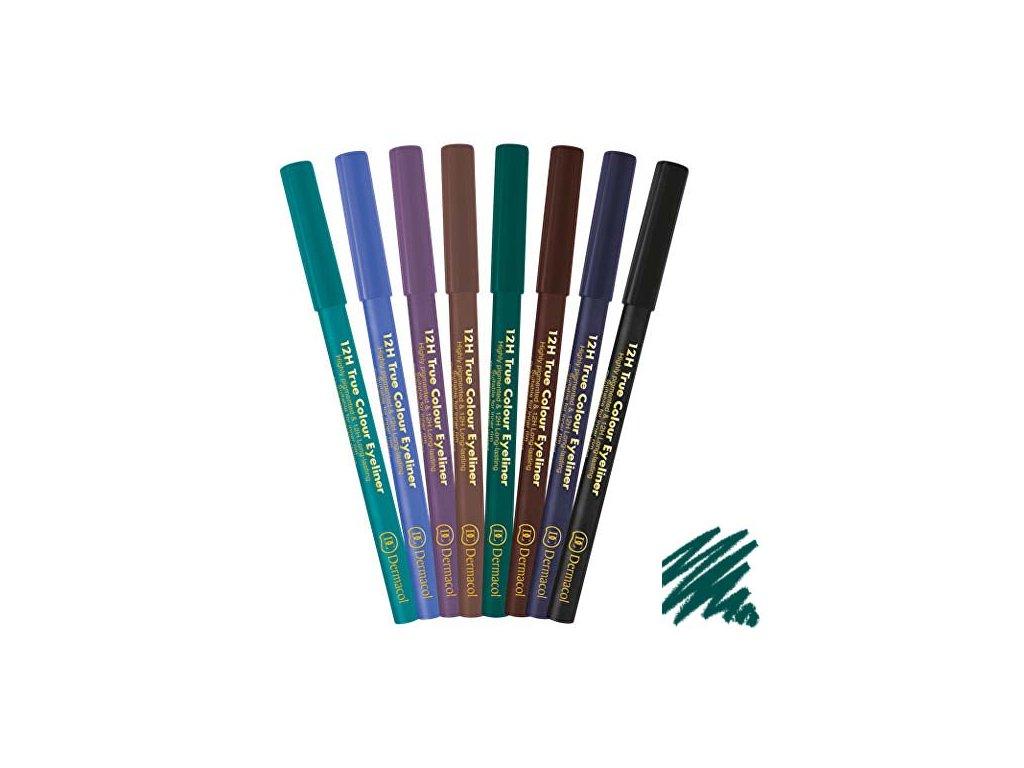 Dermacol - Tužka na oči 12H True Colour 5 green