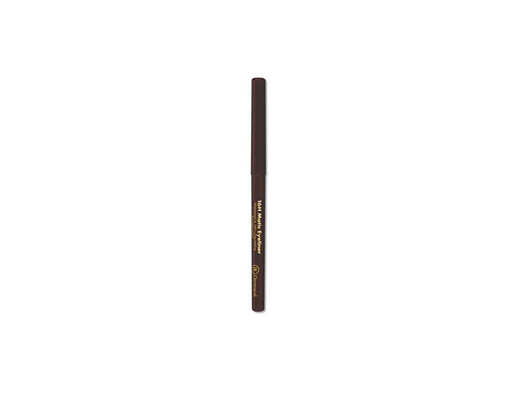 Dermacol - Automatická tužka na oči 16H Matic Eyeliner 3 hnědá