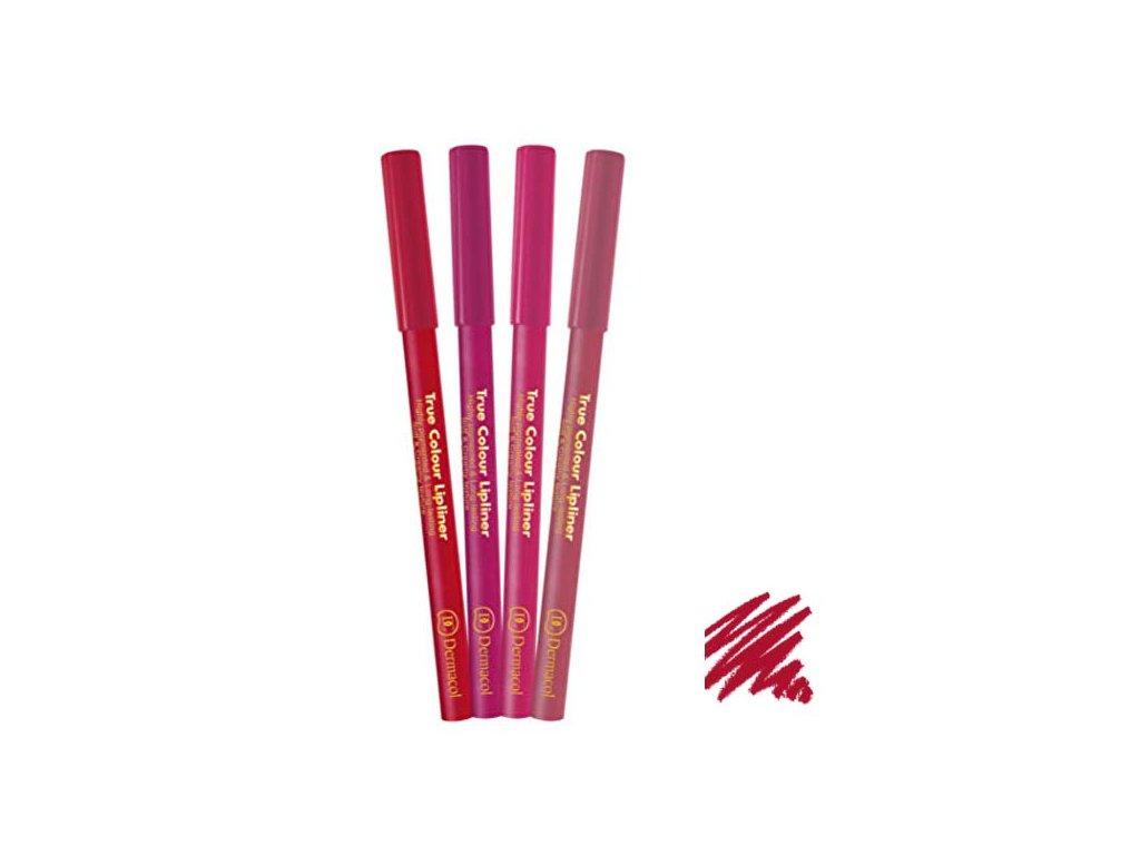 Dermacol - konturovací tužka na rty True Colour 1
