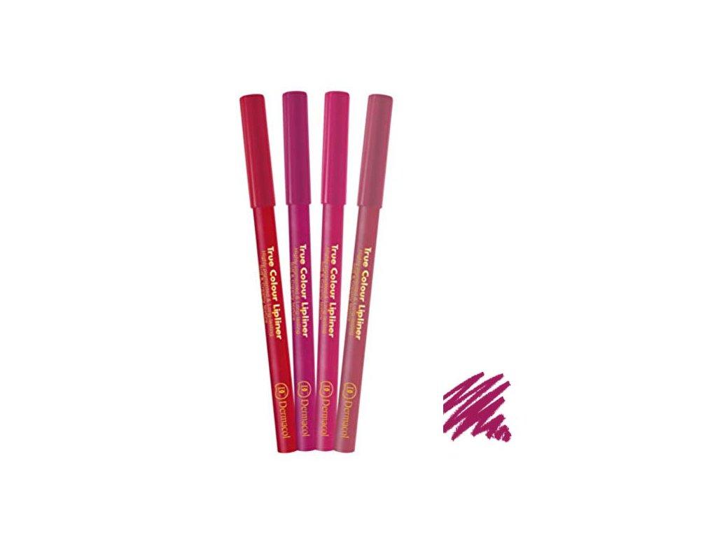 Dermacol - konturovací tužka na rty True Colour 2