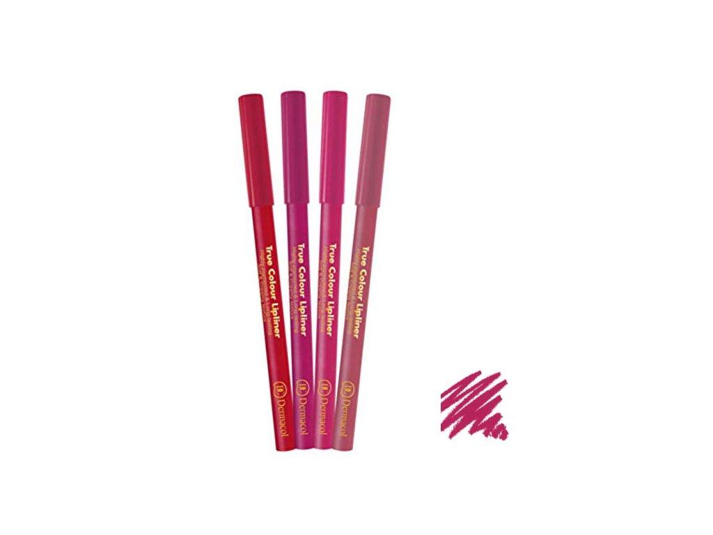 Dermacol - konturovací tužka na rty True Colour 3