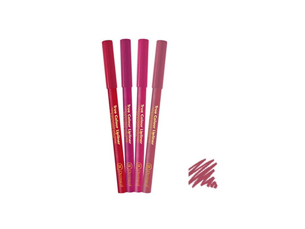 Dermacol - konturovací tužka na rty True Colour 4