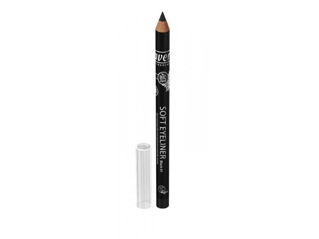 LAVERA - Přírodní  Tužka na oči 01 - černá 1,14g