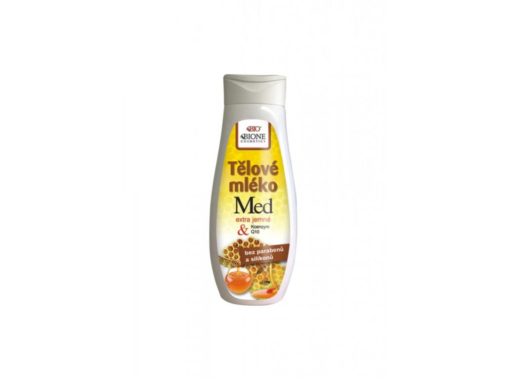Bione Cosmetics - MED + Q10 Tělové mléko 500 ml