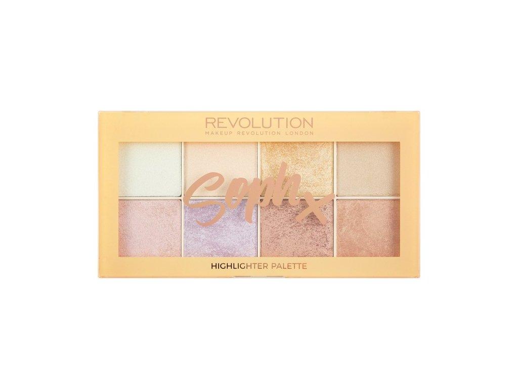Makeup Revolution - Paletka rozjasňovačů Soph