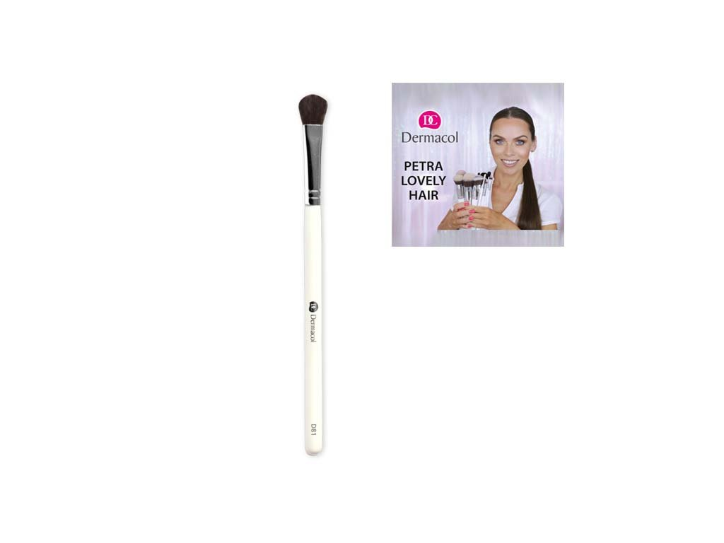 Dermacol - Štětec na oči D81 eyeshadow brush By Petra