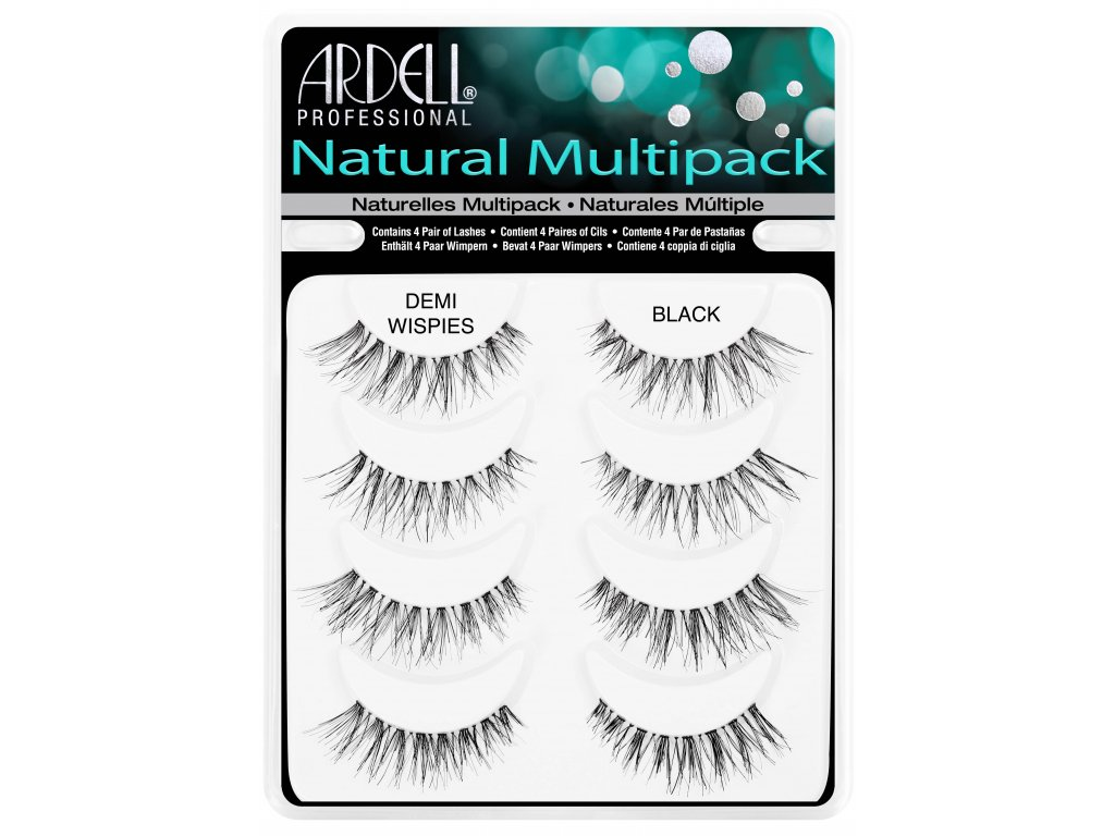 Ardell - Nalepovací řasy Demi Wispies Multipack
