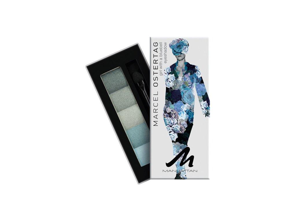 Manhattan - Paletka stínů marcel Ostertag - Girl With a bluebell