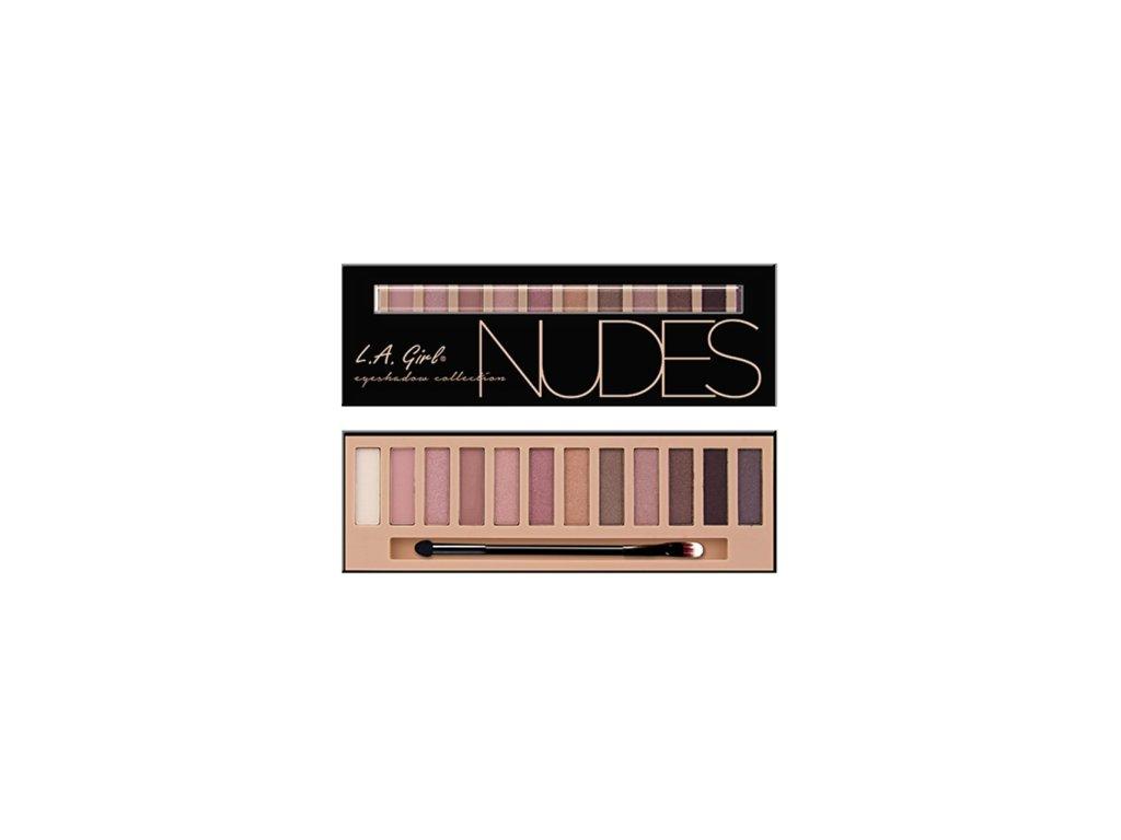 L.A. Girl - Paletka stínů Beauty Brick NUDES