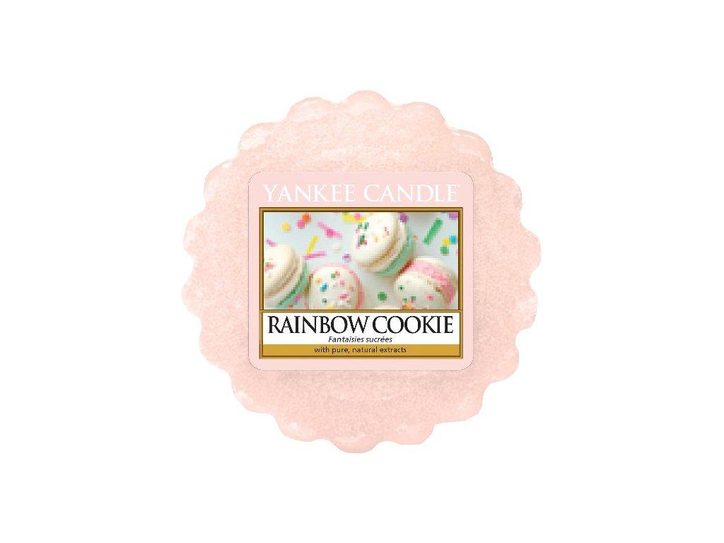 Yankee candle - Vonný vosk do aromalampy RAINBOW COOKIE