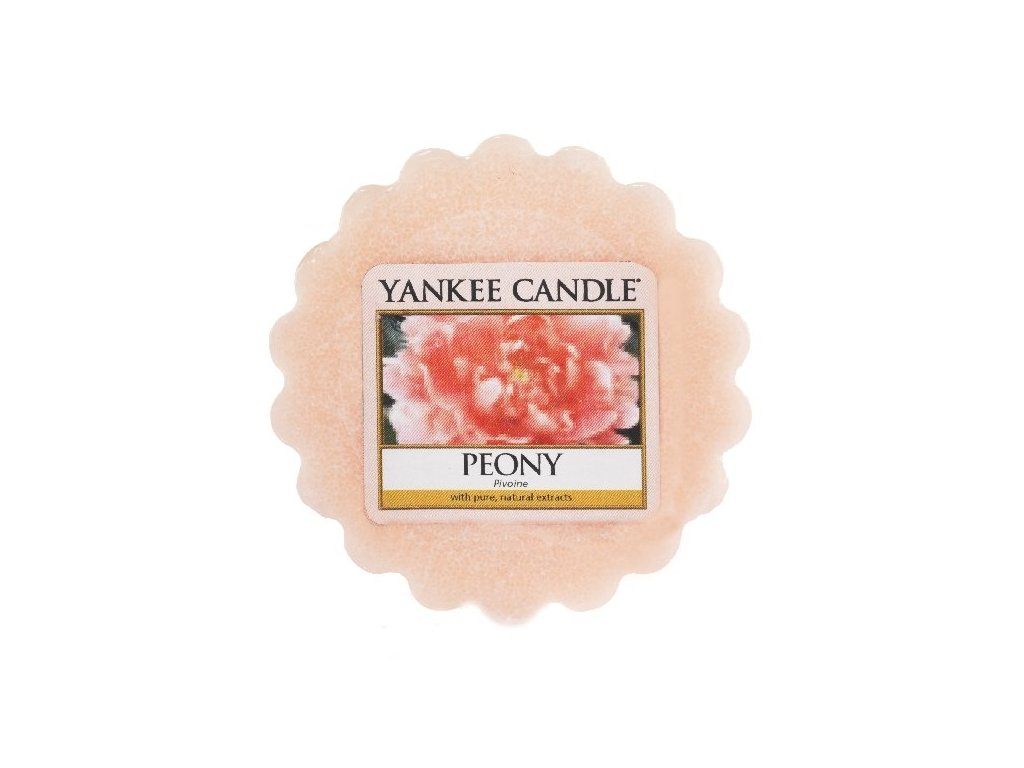 Yankee candle - Vonný vosk do aromalampy PEONY