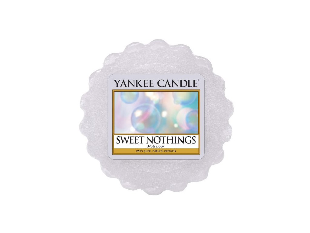 Yankee candle - Vonný vosk do aromalampy SWEET NOTHINGS