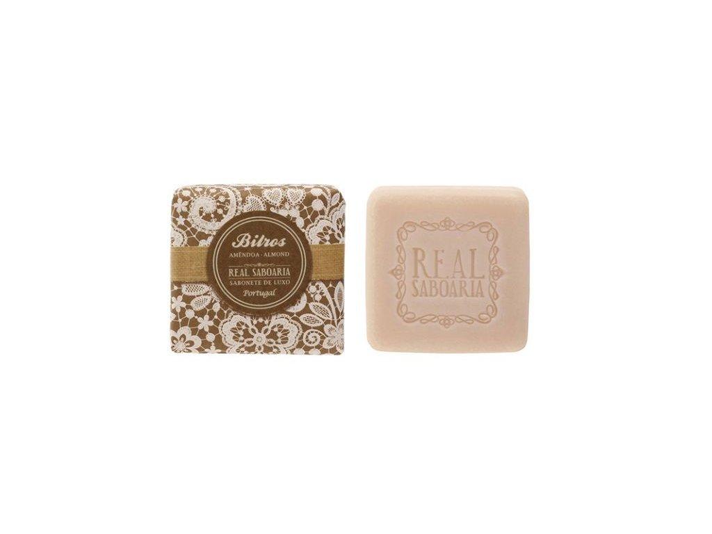 Real Saboaria - Luxusní mýdlo Mandle 50g