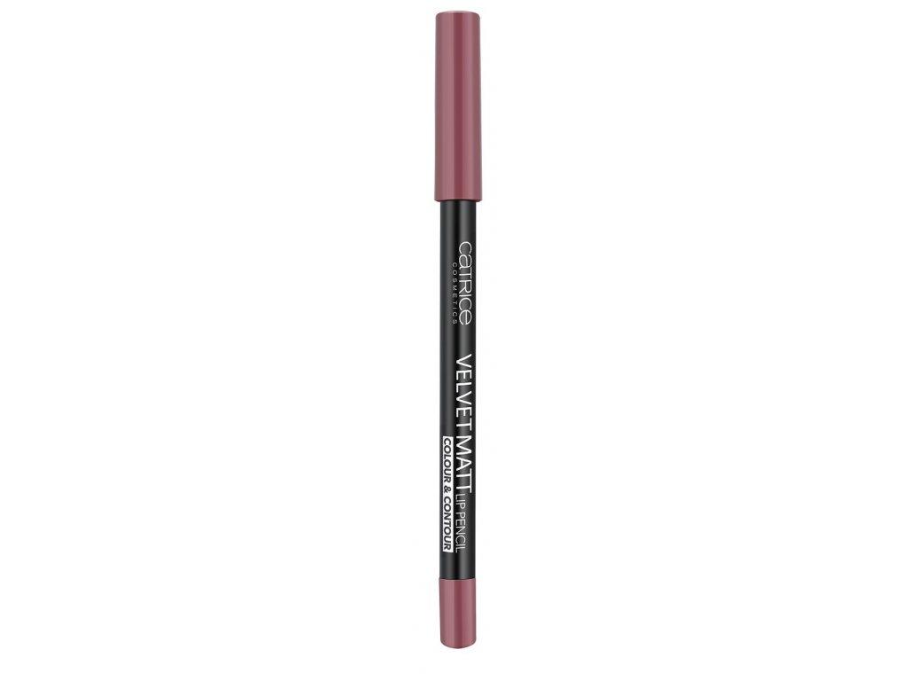 catrice velvet matt lip pencil colour contour 010 from rags to roses 1 3g