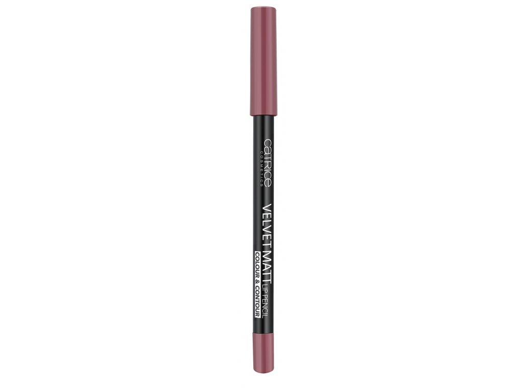 catrice velvet matt lip pencil colour contour 010 from rags to roses 1 3g
