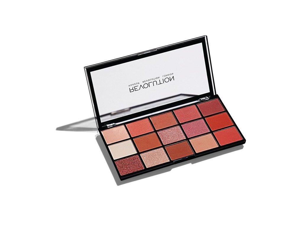 Makeup Revolution - paletka 15 očních stínů Re-Loaded - Newtrals 2