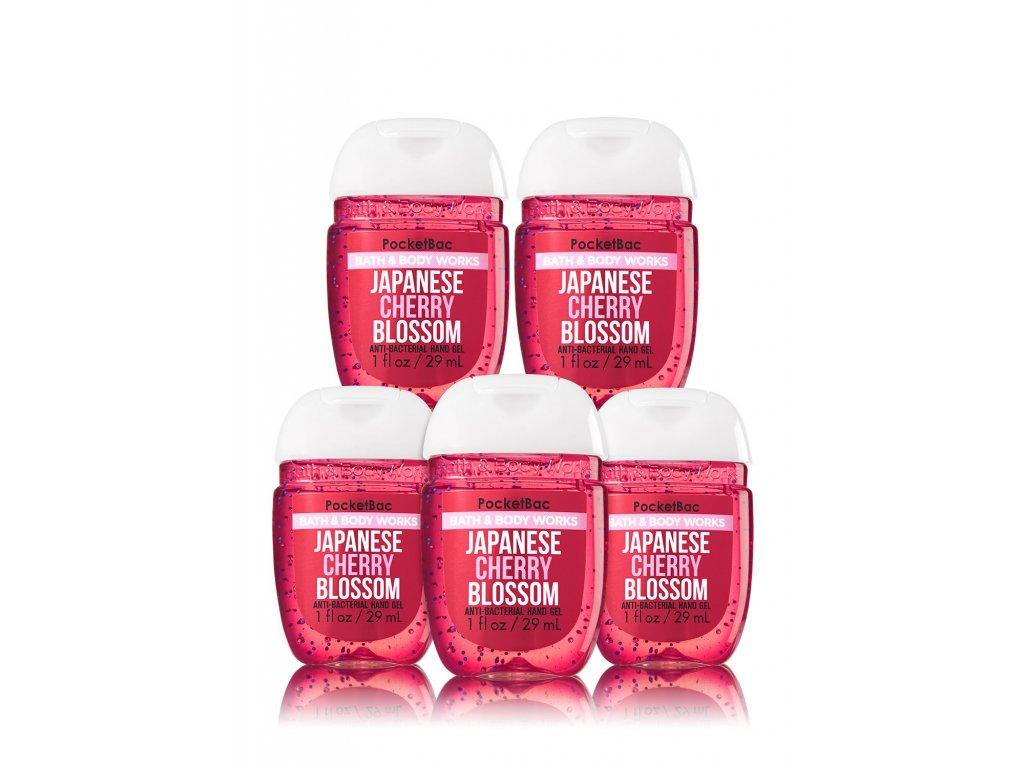 Bath & Body Works - antibakteriální gel na ruce JAPANESE CHERRY BLOSSOM 29ml