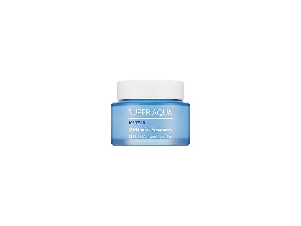 Missha - Super Aqua Ice Tear Cream - Pleťový hydratační krém
