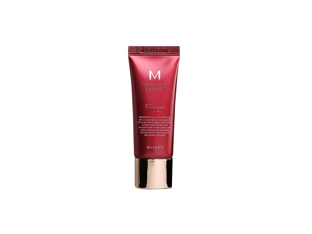 Missha - Perfect Cover BB Cream 21 Light Beige 20ml