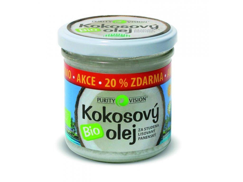 PURITY VISION kokosový olej panenský BIO 100 ml