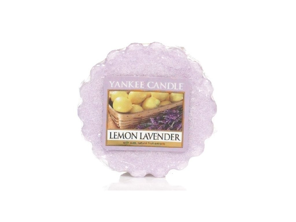 Yankee candle - Vonný vosk do aromalampy LEMON LAVENDER