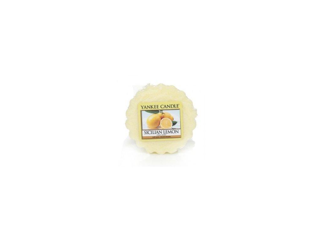 Yankee candle - Vonný vosk do aromalampy SICILIAN LEMON