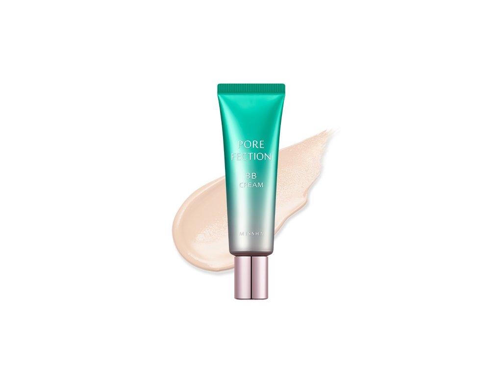 Missha - Pore-fection BB Cream 1 Light Beige 30ml