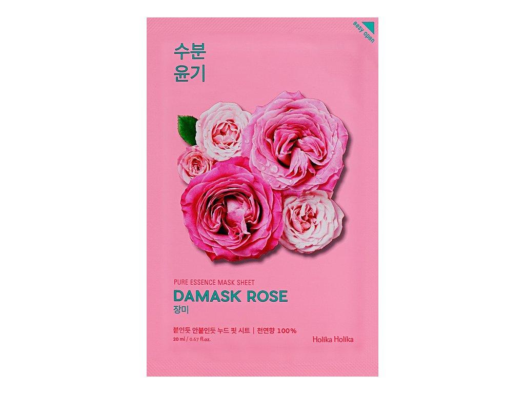 holika holika pure essence mask sheet damask rose
