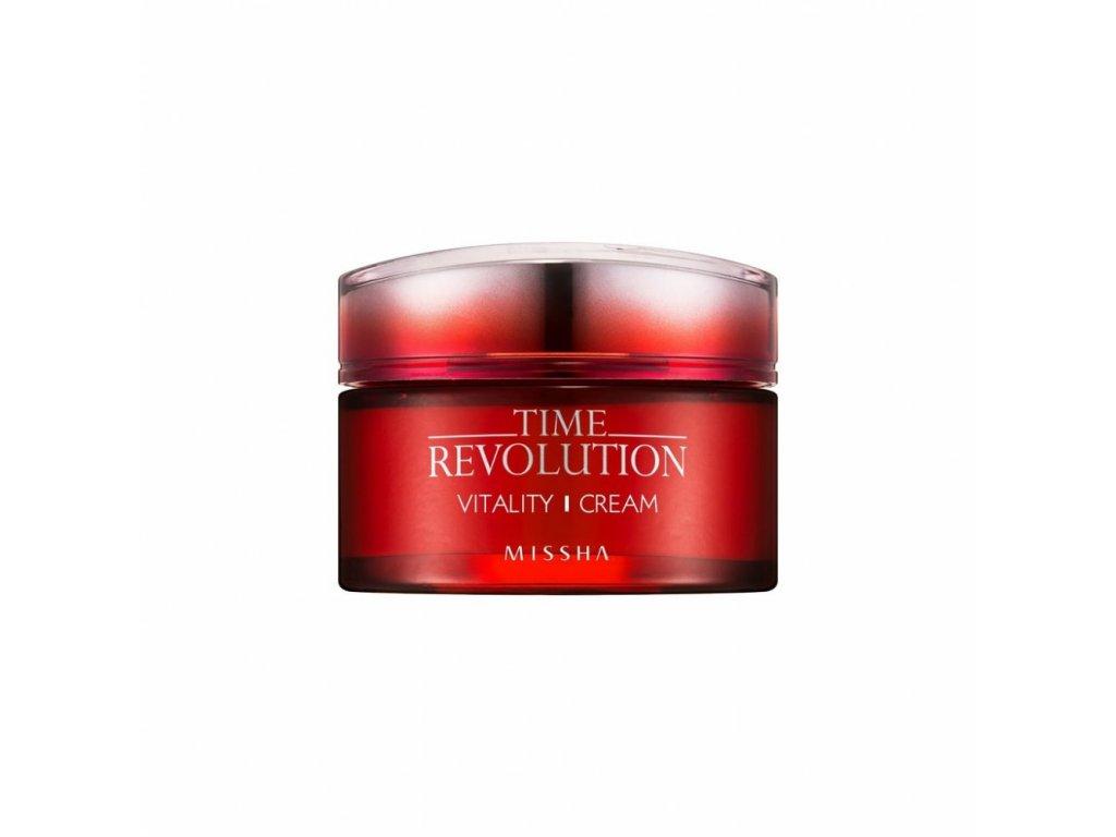Missha - TIME REVOLUTION Vitality Cream – Vitalizující pleťový krém