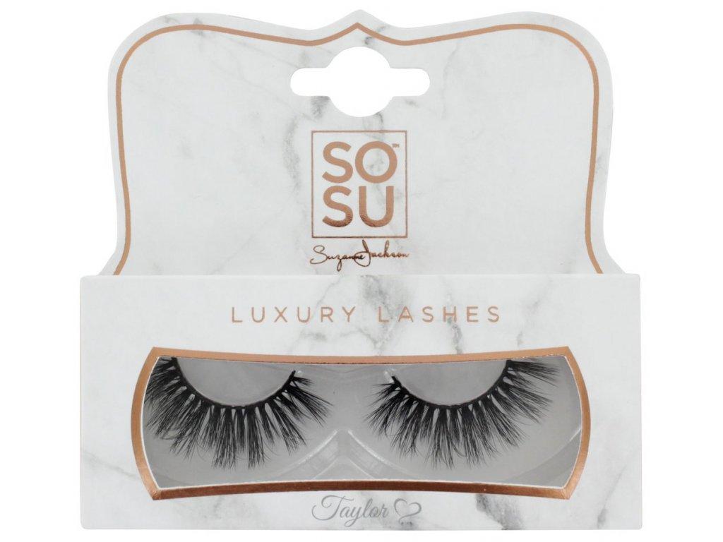 SOSU - Luxusní umělé 3D řasy TAYLOR