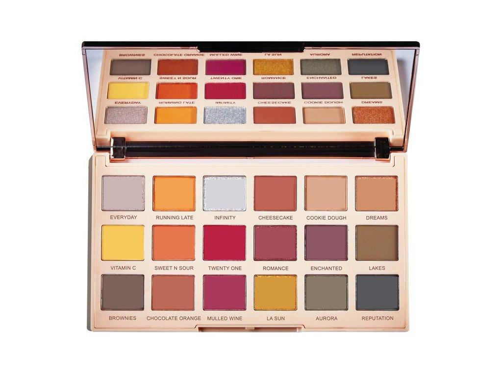 Makeup Revolution - Paletka 18 očních stínů Soph Extra Spice