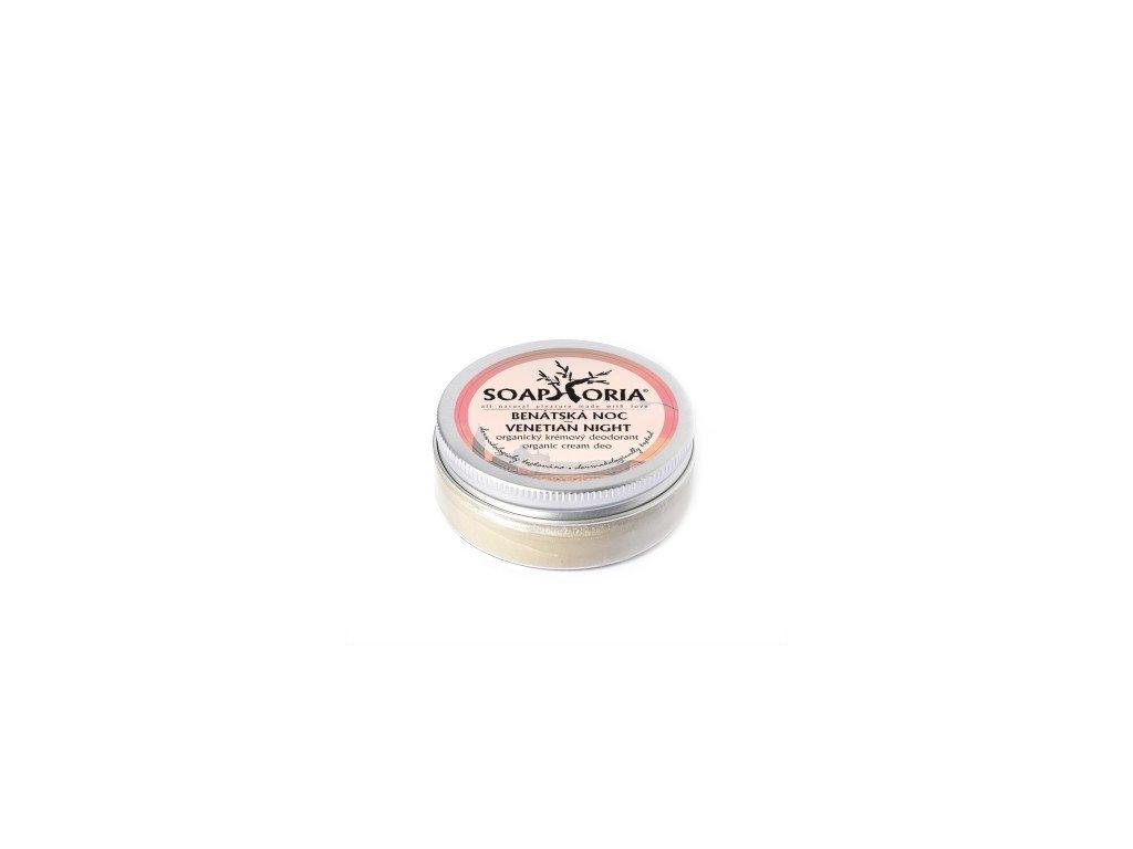 SOAPHORIA - Organický krémový deodorant Benátská noc
